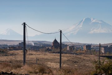 The region where we are providing relief is a place of Biblical proportions, in sight of Mount Ararat-- named in Genesis as the resting place of Noah's Ark.