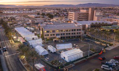 Emergency Field Hospital in California