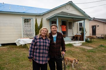 Rusty and Gloria Terry were thankful to receive help from Samaritan's Purse.