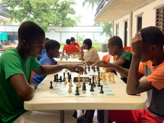Residents of the Greta Home & Academy compete against each other in frequent chess matches.