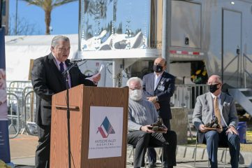 Samaritan's Purse Board Member Dr. Felix Martin del Campo Jr. expressed gratitude for the way the community supported the work of Samaritan's Purse.