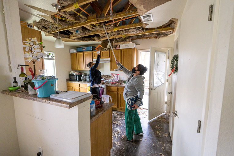 Assessments in Texas are underway as we prepare to assist homeowners.
