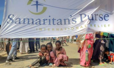 Samaritan's Purse is distributing food and other supplies to suffering families and children in the Tigray region of Ethiopia.
