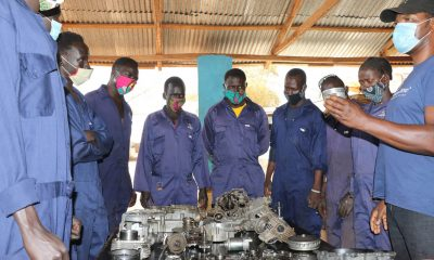 A vehicle maintenance and repair training program in South Sudan is paving the way for young adults to secure stable jobs.