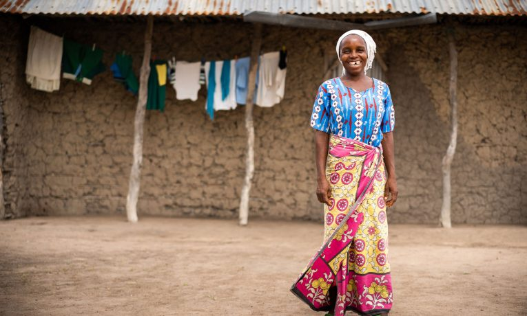 Dama prayed to receive Jesus Christ as her Lord and Savior through our clean water projects.