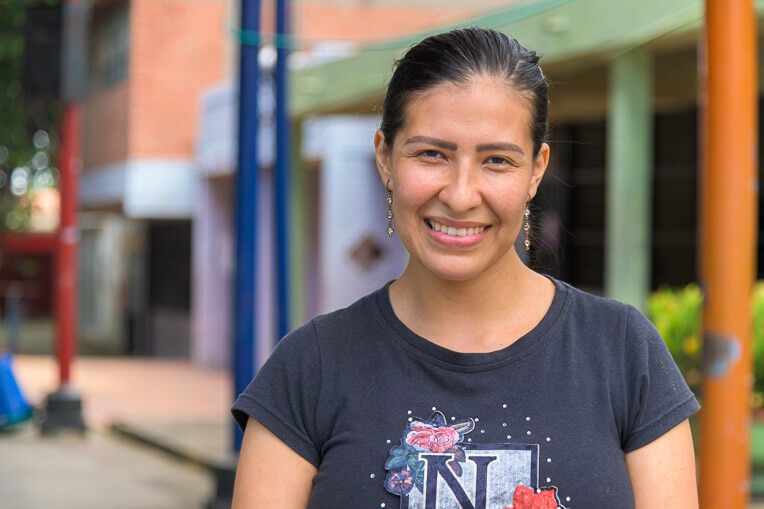 Blanca's life has been severely disrupted by both the crisis in Venezuela and the ongoing COVID-19 pandemic.