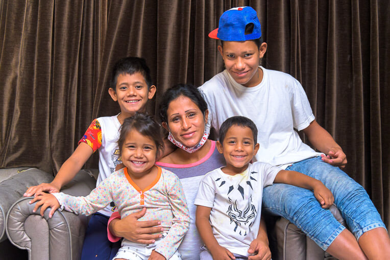 Maria is persevering through many trials to provide what her children need.