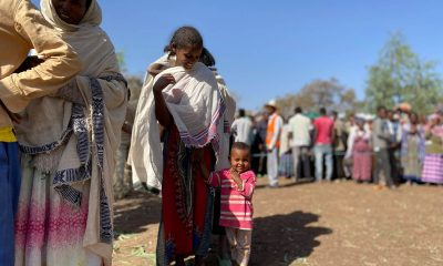 Samaritan's Purse is assisting displaced families with food, shelter, access to clean water, and hygiene in the Tigray region of Ethiopia.