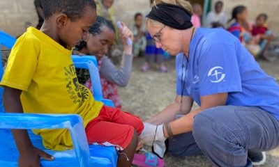 Samaritan's Purse medical teams are providing essential care to displaced families in Tigray, Ethiopia.