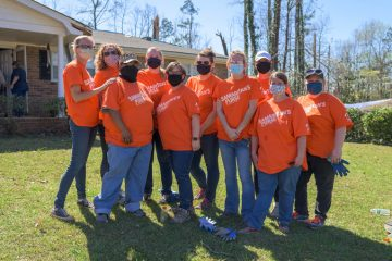 A group of teachers from Atkinson Elementary School volunteered with Samaritan's Purse. The school was severely damaged by the storm and is now closed for the next several weeks.   Now, these teachers are helping out their community members--including their students--recover from the storm.