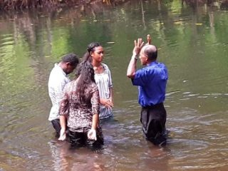 We praise God for the students who came to faith during The Greatest Journey and were then baptized.