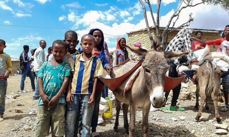 Samaritan's Purse is assisting displaced families who are fleeing violence in the Tigray Region of Ethiopia.