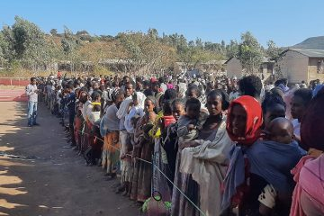 Samaritan's Purse is providing food to hundreds of thousands of families in need of assistance in the Tigray region of Ethiopia.