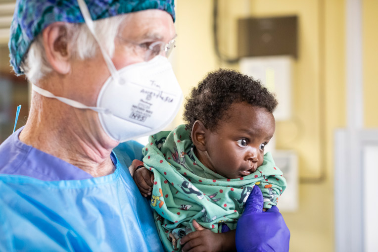 Nurse anesthesist Tim Musick says he does this important work so that these hurting families can know the love of God through Jesus Christ.
