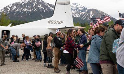 Welcoming military couples to Samaritan Lodge Alaska on May 30, 2021.