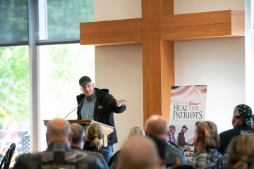 Samaritan's Purse President Franklin Graham thanked the many who came to ride on Saturday.