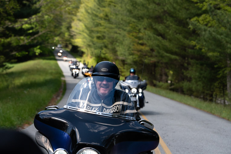 More than 140 motorcyclists rode this weekend to support wounded veterans and Operation Heal Our Patriots.