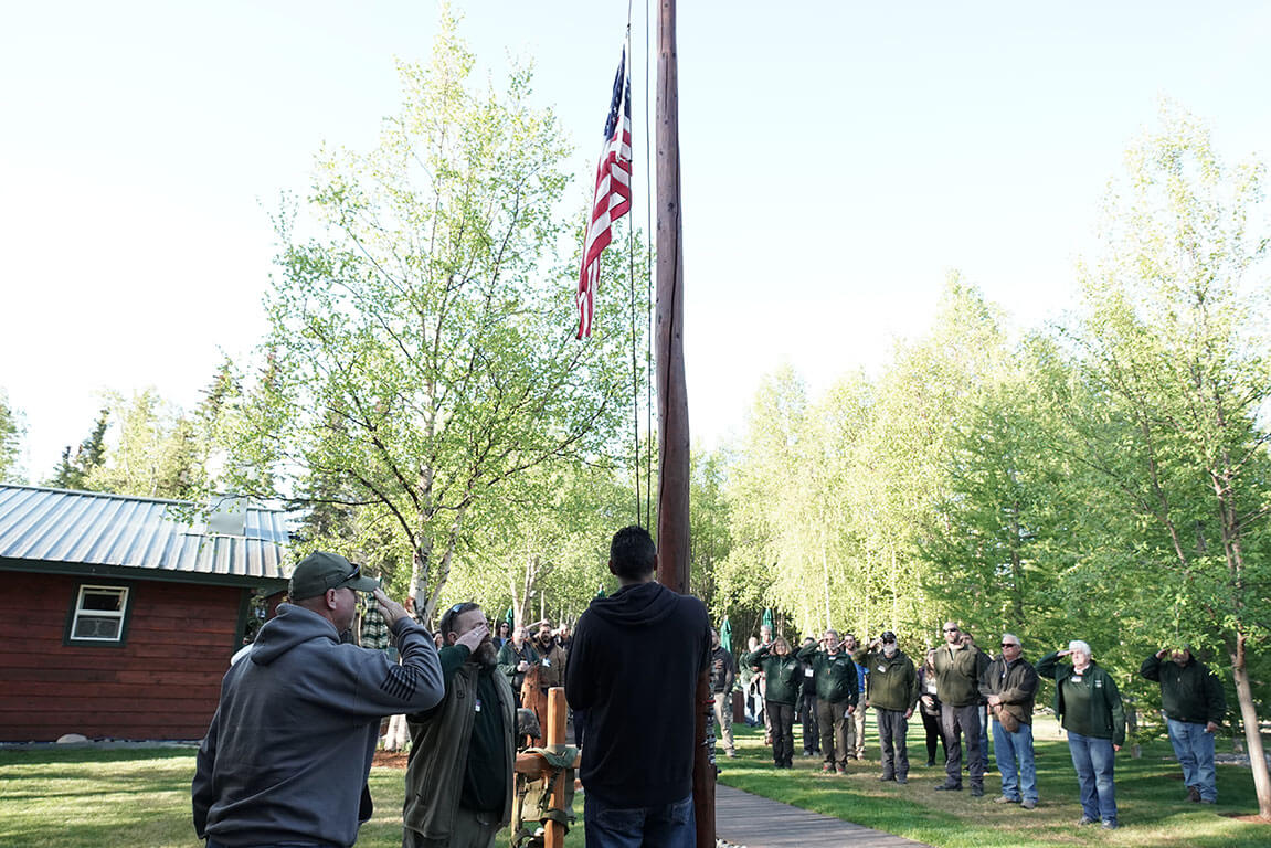 On Memorial Day, staff and couples participated in a time of remembrance for those who gave their lives in service to our country.