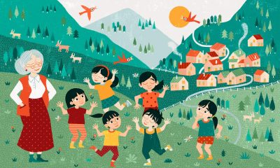 Operation Christmas Child illustration, Central Asia story, The Greatest Journey