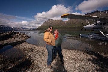 Varalin and Ken grew closer together during their time at Samaritan Lodge Alaska.