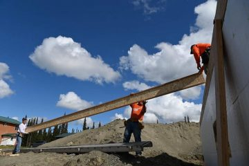 Construction materials and practices in Alaska take into account the severe weather and temperature changes buildings will encounter throughout the year.