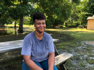 Christine Daughrity was grateful for our help following last week's flooding.