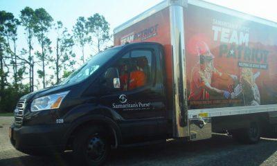 Team Patriot truck rolls in Lake Charles