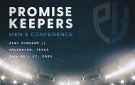 Promise Keepers event July 16-17 Arlington AT&T Stadium