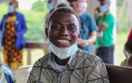 William received his site again in June at ELWA hospital after three years with cataracts.