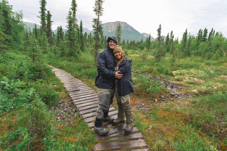 Air Force veterans David and Sarah Carbullido experienced healing for their marriage in Alaska this summer.