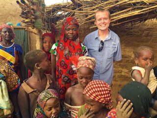 Dr. Steve Hoyt spreads the love of Jesus wherever he goes.