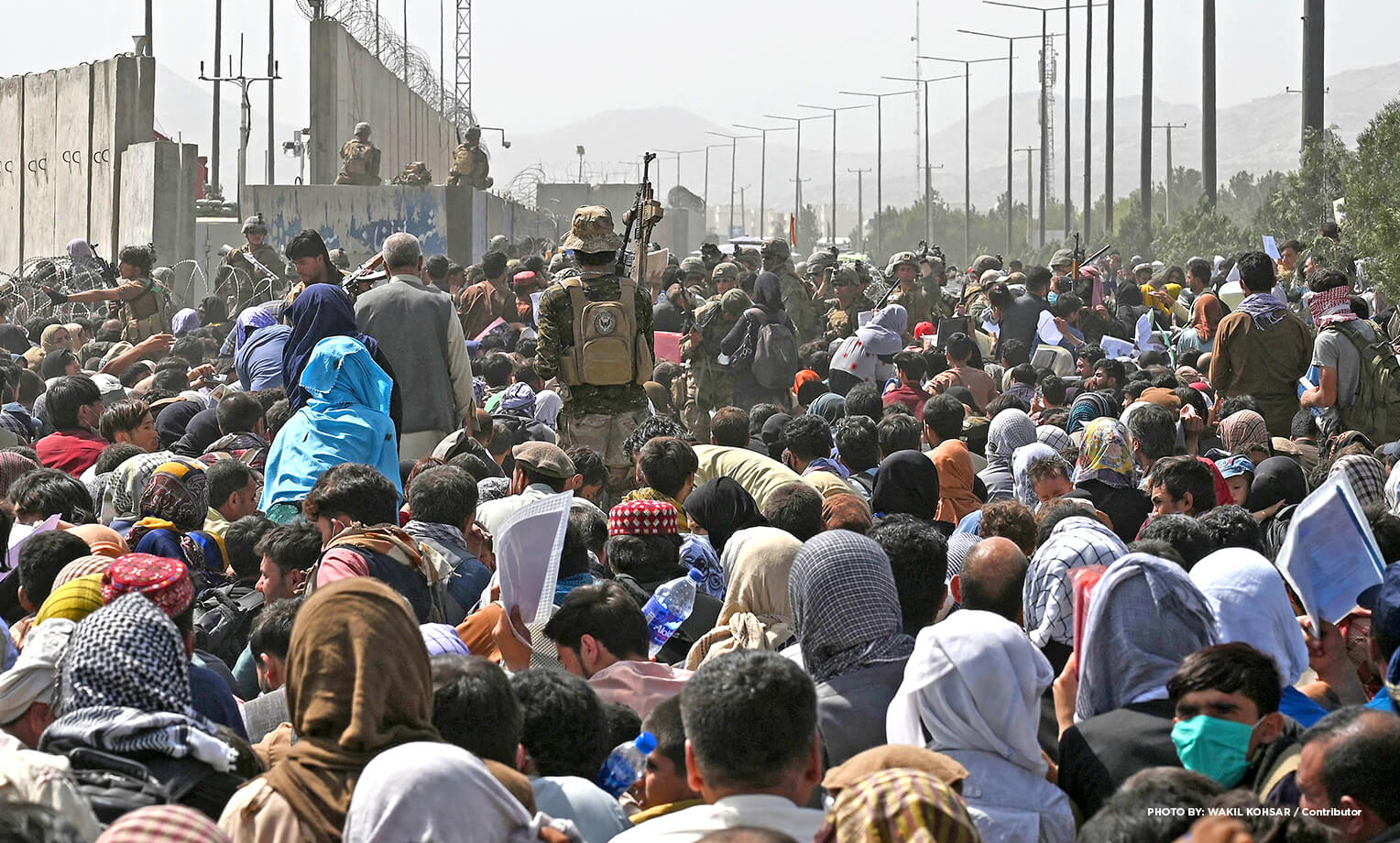 Afghanistan in crisis at Kabul airport