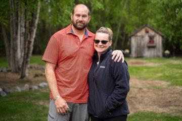 Trish and her husband, Jeff, drew closer to each other during their time in Alaska.