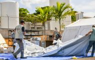 Samaritan's Purse is adding capacity and supplies to the Emergency Field Hospital in Nassau to help treat COVID-19 patients following a recent surge.