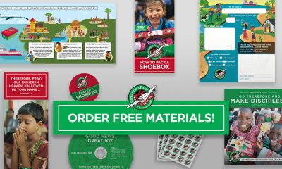 Operation Christmas Child order free materials