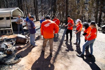 Please pray for the hurting families in California. Pray for God to use our volunteer teams to demonstrate His love and grace.