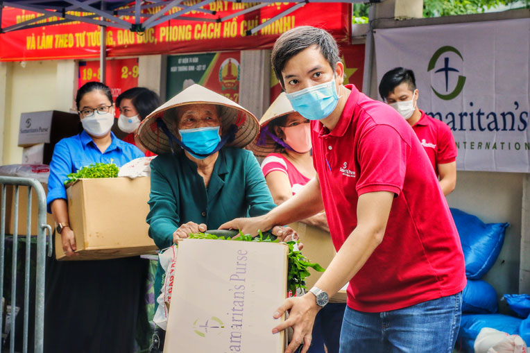 We are grateful for our staff who are working hard to serve families in need. Please continue to pray for families in Vietnam.