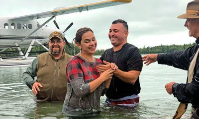 Hernandez were baptized in Lake Clark this August.