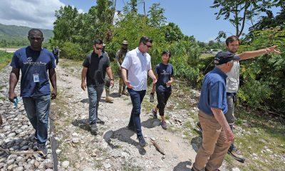 Edward Graham in Haiti