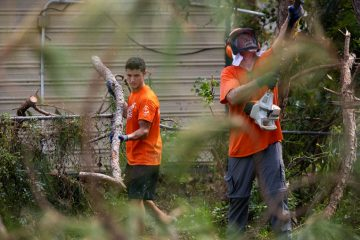 Our volunteers are working hard at three sites across southeastern Louisiana.
