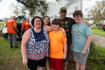 The Harper family is grateful for the help they received from Samaritan's Purse.