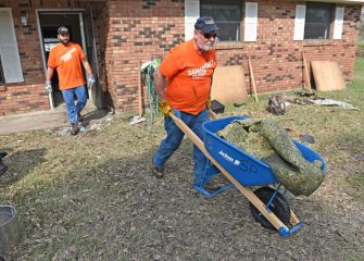 We need many more volunteers to come and serve in Jesus' Name in the Bayou State.