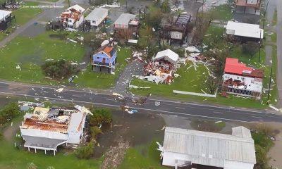 Ida destruction in Louisiana