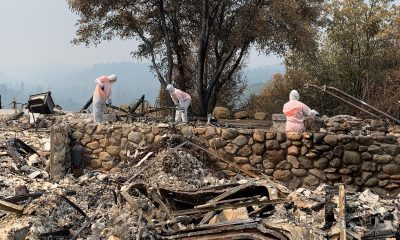 Samaritan's Purse volunteers have responded to a number of fires in California in recent months. Most recently is the Caldor Fire.