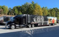 U.S. Disaster Relief Unit #8—a tractor-trailer filled with relief supplies and equipment—deployed October 18 from North Wilkesboro, North Carolina to Pelham, Alabama.