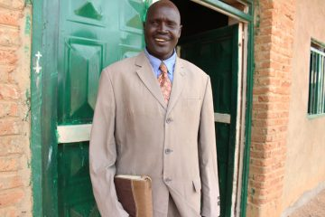 A South Sudanese pastor.
