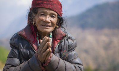 A Nepali woman who showed the Samaritan's Purse team much kindness.