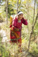 Nepali women work hard every day in order to care for their families.