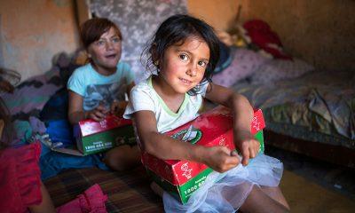 A child in Ukraine