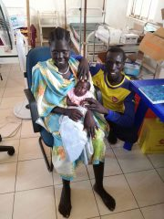 Mary's baby continued to gain weight and to grow healthy and strong in the months after her birth.